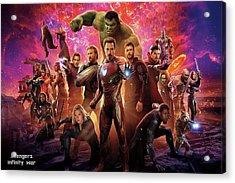 Avengers Infinity War Acrylic Print