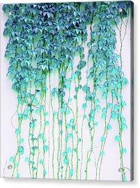 Average Absence Acrylic Print by Uma Gokhale