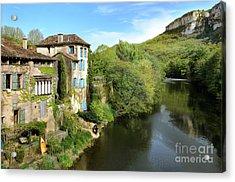 Aveyron River In Saint-antonin-noble-val Acrylic Print by RicardMN Photography