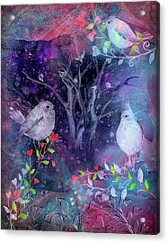 Avian Midnight Acrylic Print