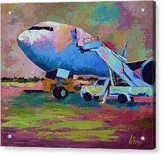 Aviation Ground Handling 1 Acrylic Print