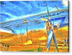 Aviation Pop Art Acrylic Print