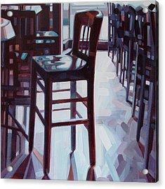 Avida Seat Acrylic Print by Penelope Moore