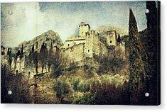 Avio Castle Acrylic Print