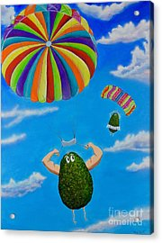 Avocado's From Heaven Acrylic Print