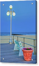 Avon Boardwalk At Twilight Acrylic Print