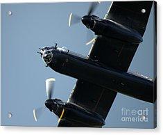 Avro Lancaster Acrylic Print by Angel  Tarantella