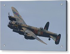 Acrylic Print featuring the photograph Avro Lancaster B1 Pa474  by Tim Beach