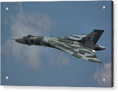 Acrylic Print featuring the photograph Avro Vulcan B2 Xh558 by Tim Beach