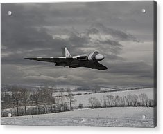 Avro Vulcan - Cold War Warrior Acrylic Print by Pat Speirs