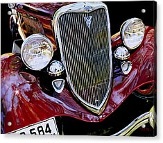 Aw Shucks I Could Of Had A V Eight Acrylic Print by Mike Hill