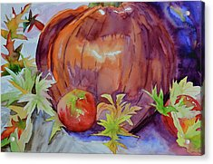 Acrylic Print featuring the painting Awaiting by Beverley Harper Tinsley