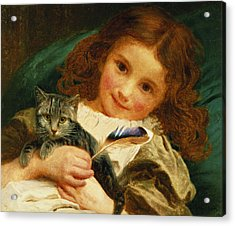 Awake Acrylic Print by Sophie Anderson