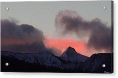 Awaken The Dawn Over Sheeps Head Peak El Valle New Mexico Acrylic Print