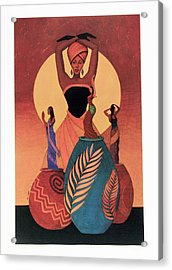 Awakening Acrylic Print by Albert and Simone Fennell