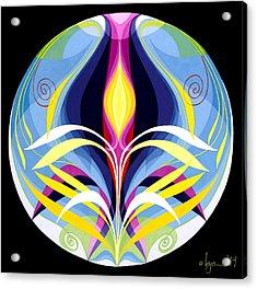 Awakening Acrylic Print by Angela Treat Lyon