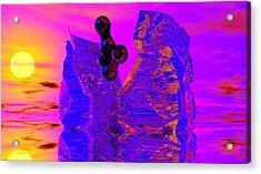 Awakening Acrylic Print by David Lane