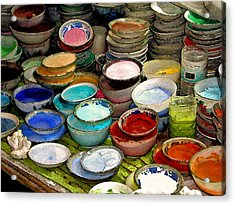 Awash In Color Acrylic Print