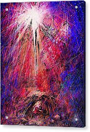 Away In A Manger Acrylic Print