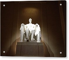 Awesome Abe Acrylic Print
