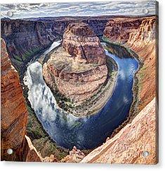 Awesome Amazing Horseshoe Bend Arizona Acrylic Print