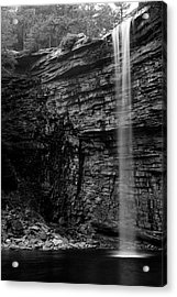 Awosting Falls In Spring #4 Acrylic Print