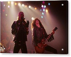 Axl Rose And Slash Acrylic Print