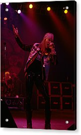 Axl Rose Of Guns N' Roses Acrylic Print