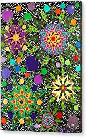 Ayahuasca Vision May 2015 Acrylic Print