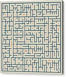 Ayat Ul-kursi04 Acrylic Print