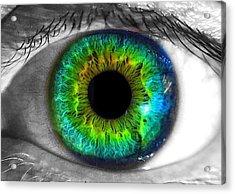 Aye Eye Acrylic Print