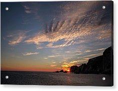 Ayrmer Cove In South Hams Acrylic Print