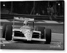 Ayrton Senna. 1988 Italian Grand Prix Acrylic Print