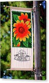 Azalea Festival Acrylic Print by Tamyra Ayles