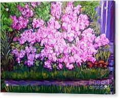 Azalea Spring Acrylic Print