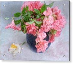 Acrylic Print featuring the photograph Azalea Time by Louise Kumpf