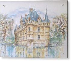 Azay Le Rideau Acrylic Print