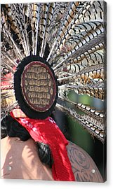 Aztec Danza 1 Acrylic Print by LoungeMode Productions
