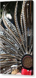 Aztec Danza 2 Acrylic Print by LoungeMode Productions