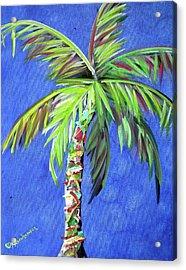 Azul Palm Acrylic Print