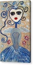 Azura Acrylic Print by Julie Engelhardt