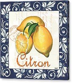 Azure Lemon 2 Acrylic Print