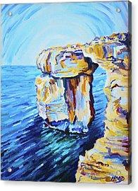 Azure Window Acrylic Print