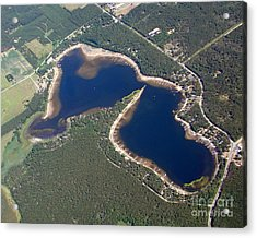 Acrylic Print featuring the photograph B-009 Berry Lake Shawano County Wisconsin by Bill Lang