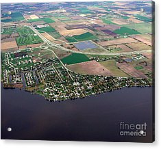 Acrylic Print featuring the photograph B-017 Butte Des Morts Town Wisconsin by Bill Lang