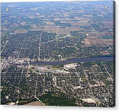 Acrylic Print featuring the photograph B-019 Beloit Wisconsin by Bill Lang