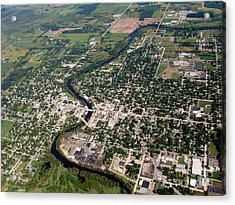 Acrylic Print featuring the photograph B-022 Berlin Wisconsin by Bill Lang