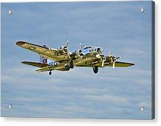 B-17 Aluminum Overcast Acrylic Print