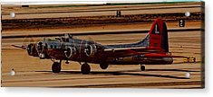 Acrylic Print featuring the photograph B-17 Bomber by Dart Humeston