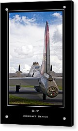 B-17 Pink Lady Acrylic Print by Mathias Rousseau